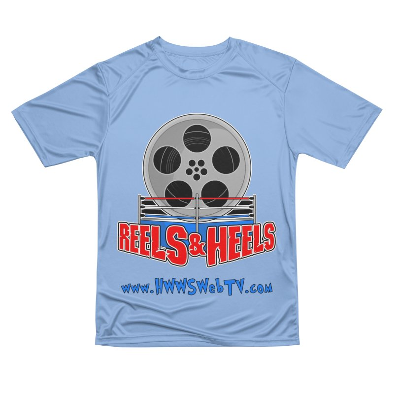 Reels & Heels Show: T-Shirts, Stickers, and MORE... Men's T-Shirt by HWWSWebTV's Artist Shop