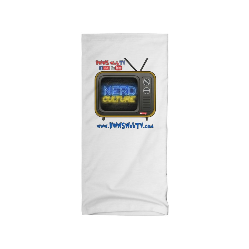 Nerd Culture on HWWS WebTV T-Shirts, Stickers and MORE... Accessories Neck Gaiter by HWWSWebTV's Artist Shop