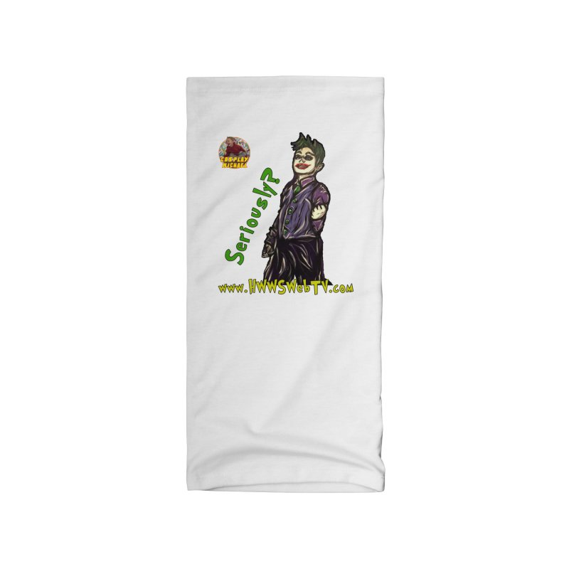 Cosplay Michael JOKER Seriously T-Shirts, Stickers and MORE ... Accessories Neck Gaiter by HWWSWebTV's Artist Shop