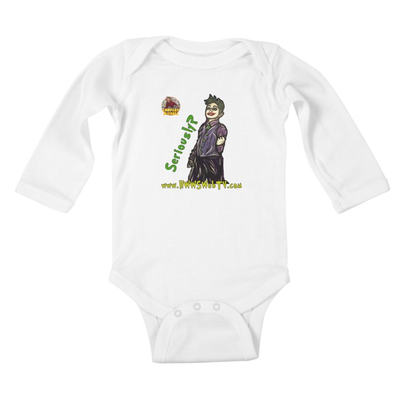 Cosplay Michael JOKER Seriously T-Shirts, Stickers and MORE ... Kids Baby Longsleeve Bodysuit by HWWSWebTV's Artist Shop