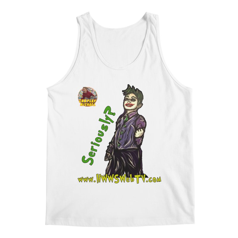 Cosplay Michael JOKER Seriously T-Shirts, Stickers and MORE ... Men's Tank by HWWSWebTV's Artist Shop