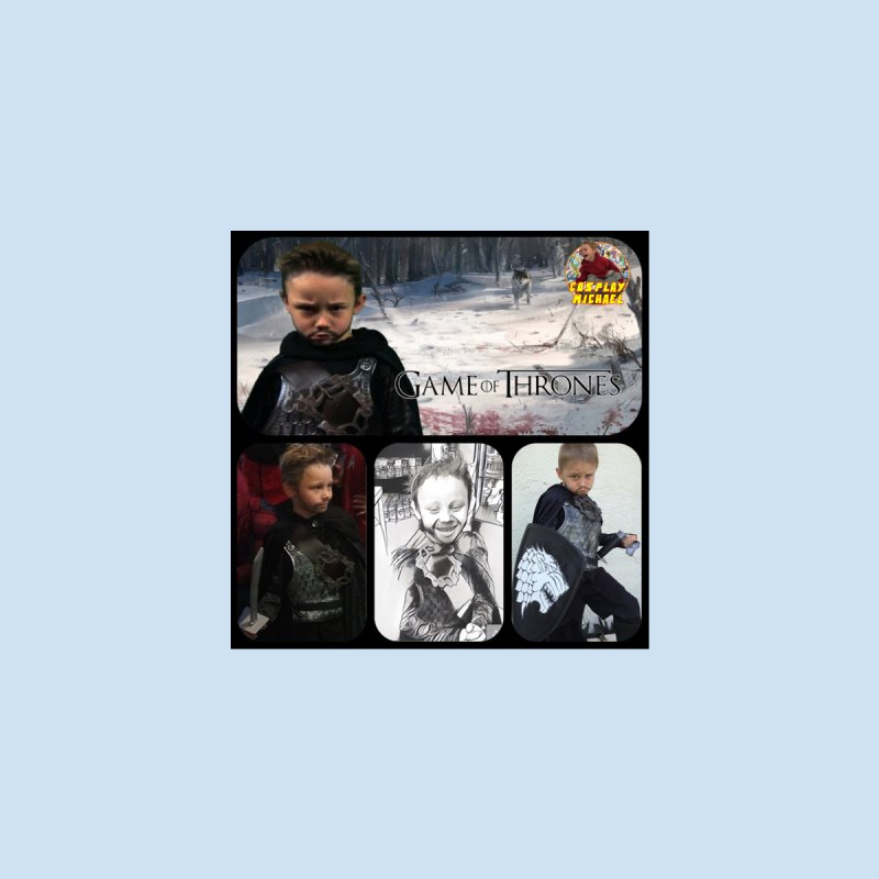Cosplay Michael Jon Snow Game of Thrones Collage PRINT Home Fine Art Print by HWWSWebTV's Artist Shop
