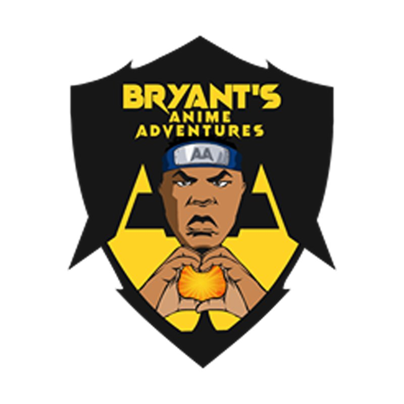 Bryant's Anime Adventures LOGO Apparel Men's T-Shirt by HWWSWebTV's Artist Shop