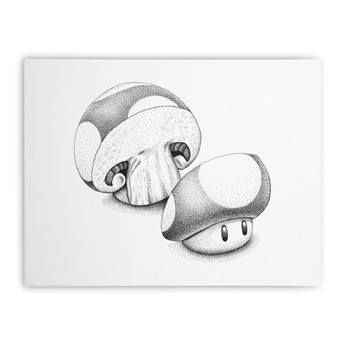 image for Sliced Mario Mushroom