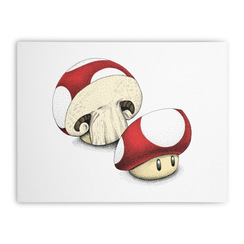 image for Sliced Mario Mushroom (Color Version)