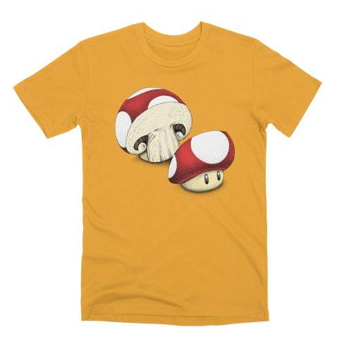 image for Sliced Mario Mushroom (Color Version)