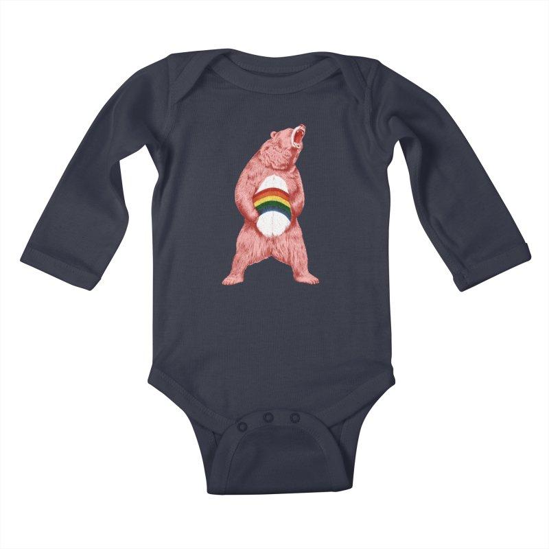 Still Caring Kids Baby Longsleeve Bodysuit by Habby Art