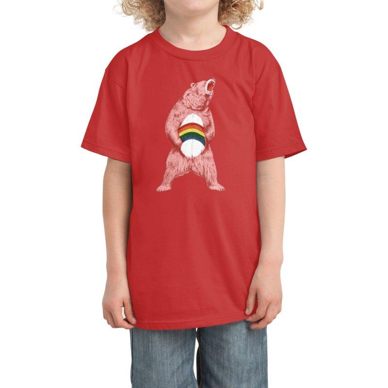 Still Caring Kids T-Shirt by Habby Art