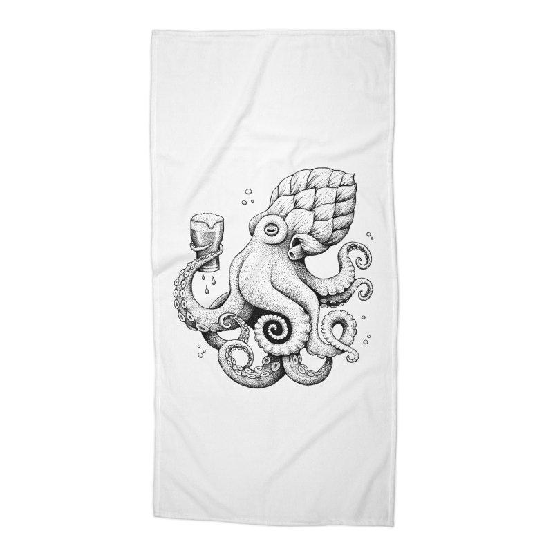 Hoptopus Accessories Beach Towel by Habby Art