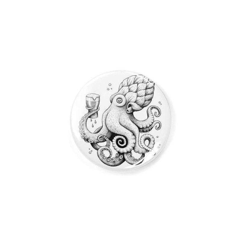 Hoptopus Accessories Button by Habby Art