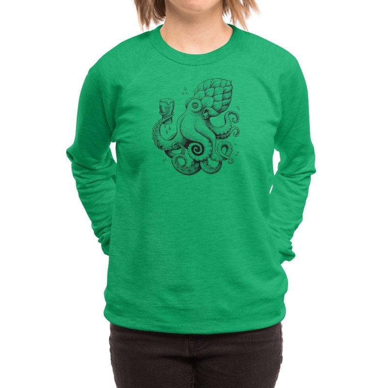 Hoptopus Women's Sweatshirt by Habby Art