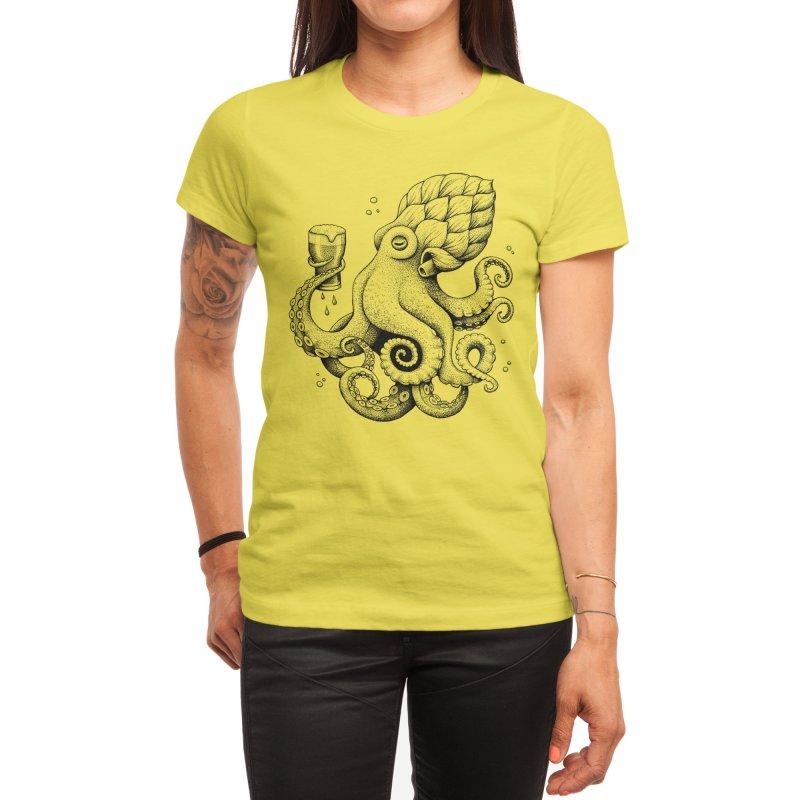 Hoptopus Women's T-Shirt by Habby Art
