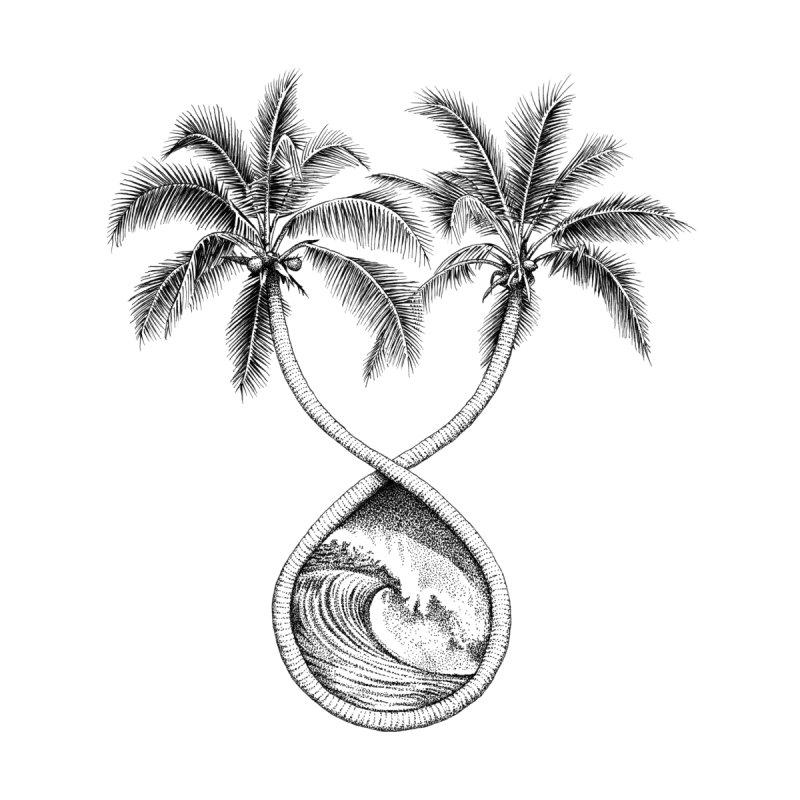 Wavy Palms by Habby's Art Shop
