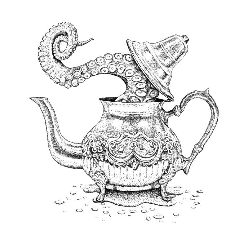 Octopus Teapot by Habby's Art Shop