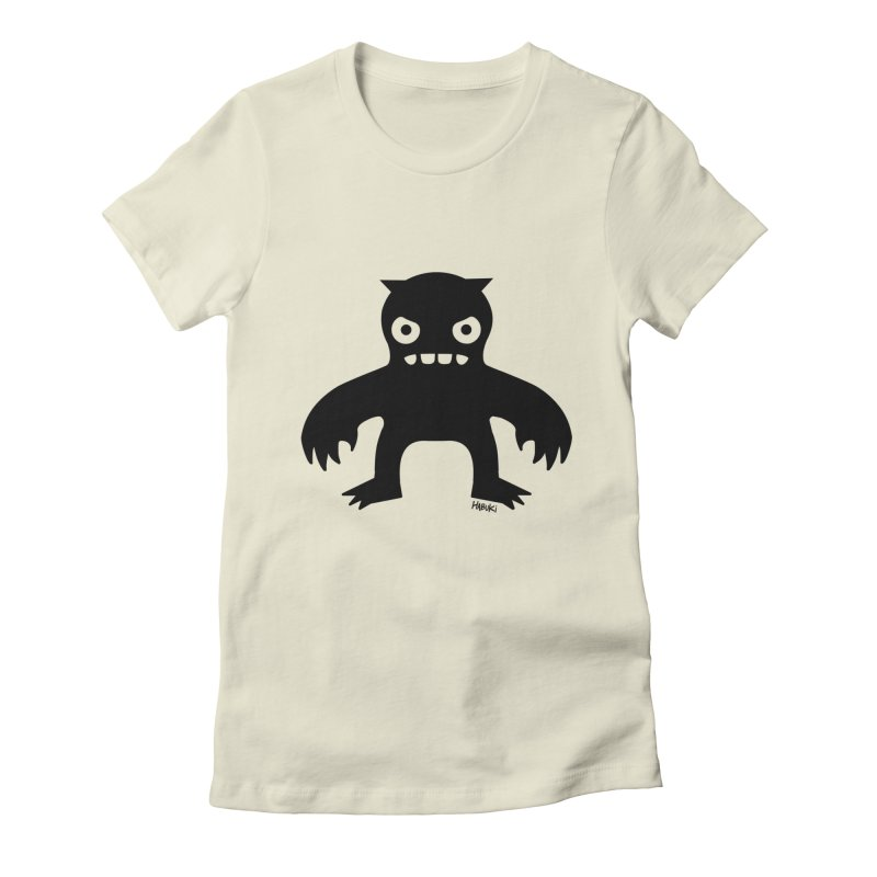 Habuki Monster Women's Fitted T-Shirt by Habuki Artist Shop