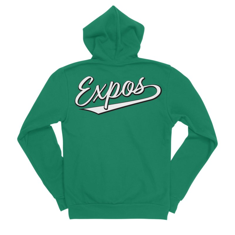 Elevation Expos Swish Logo #1 Women's Sponge Fleece Zip-Up Hoody by Hadeda Creative's Artist Shop