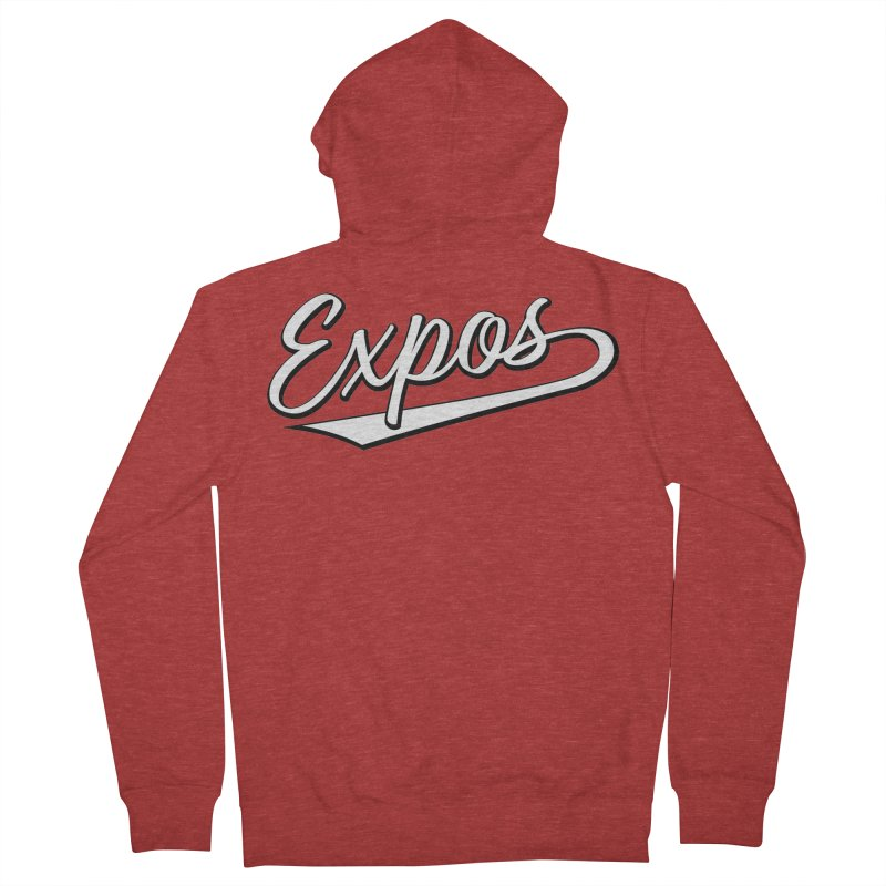 Elevation Expos Swish Logo #1 Women's French Terry Zip-Up Hoody by Hadeda Creative's Artist Shop