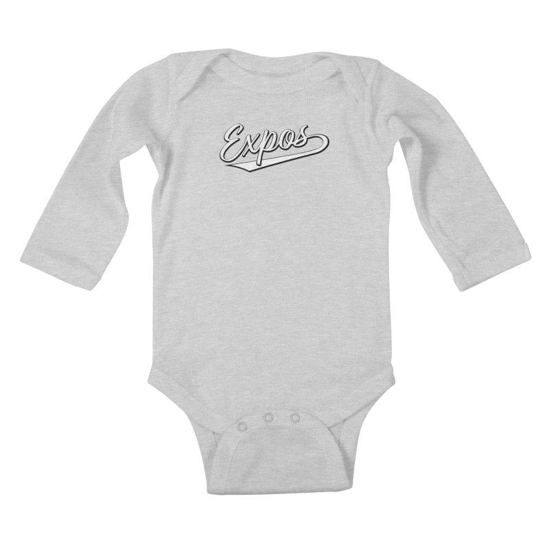 Elevation Expos Swish Logo #1 Kids Baby Longsleeve Bodysuit by Hadeda Creative's Artist Shop