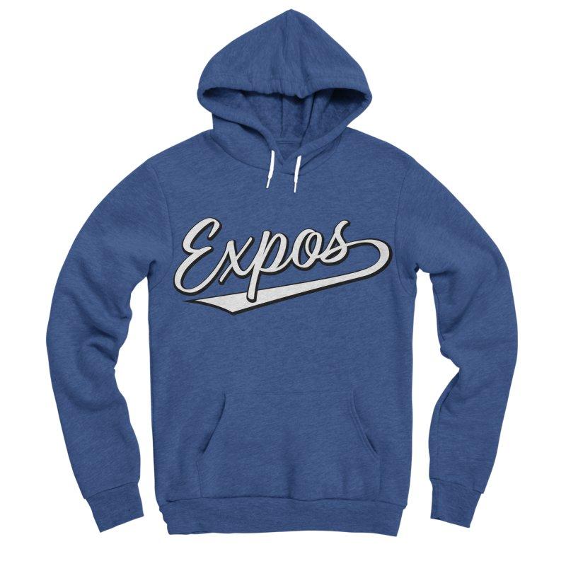 Elevation Expos Swish Logo #1 Men's Sponge Fleece Pullover Hoody by Hadeda Creative's Artist Shop