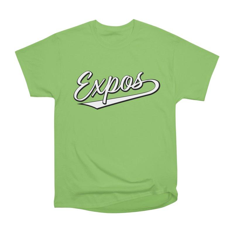 Elevation Expos Swish Logo #1 Men's Heavyweight T-Shirt by Hadeda Creative's Artist Shop