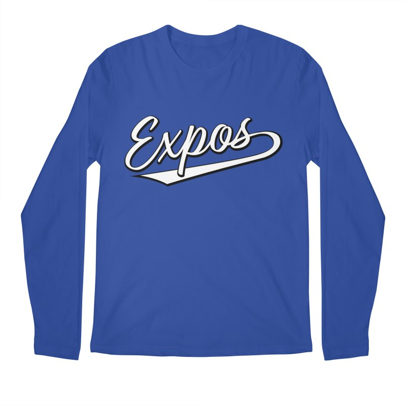 Elevation Expos Swish Logo #1 Men's Regular Longsleeve T-Shirt by Hadeda Creative's Artist Shop
