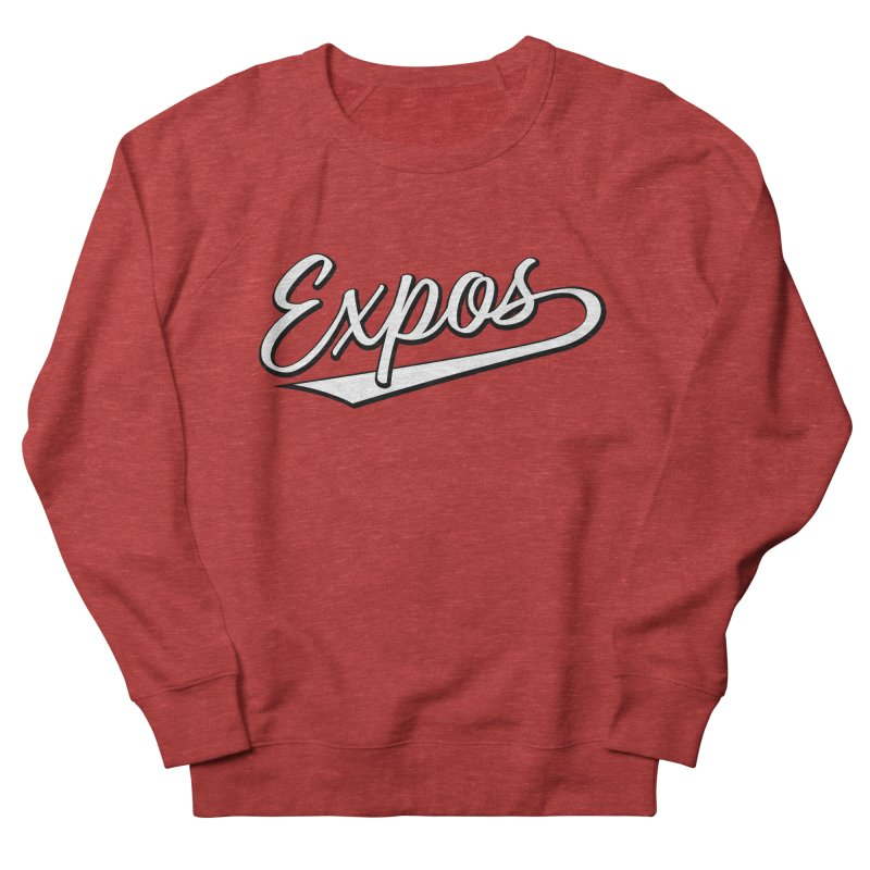 Elevation Expos Swish Logo #1 Men's French Terry Sweatshirt by Hadeda Creative's Artist Shop