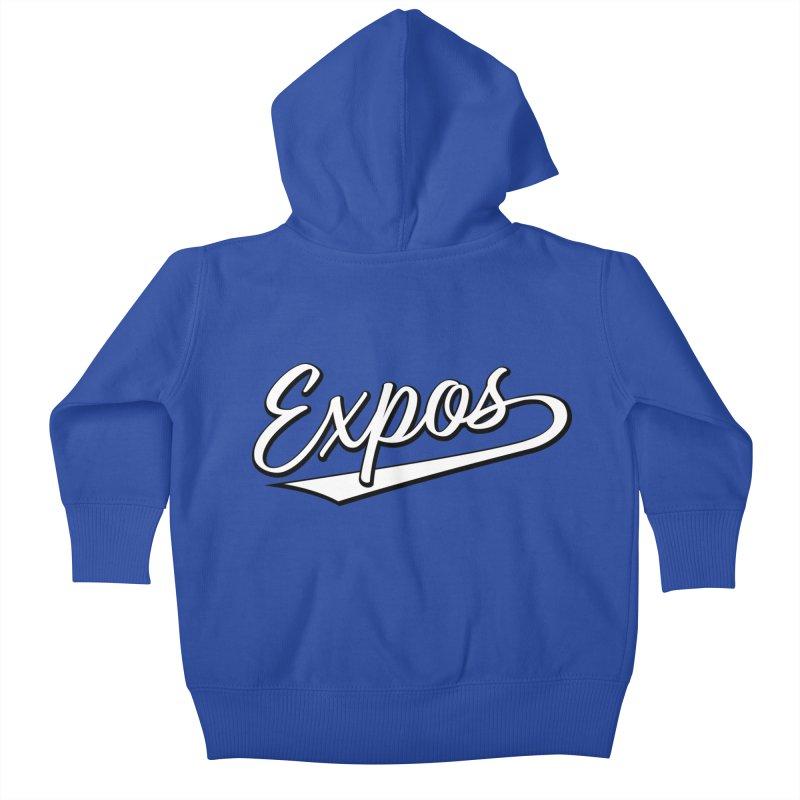 Elevation Expos Swish Logo #1 Kids Baby Zip-Up Hoody by Hadeda Creative's Artist Shop