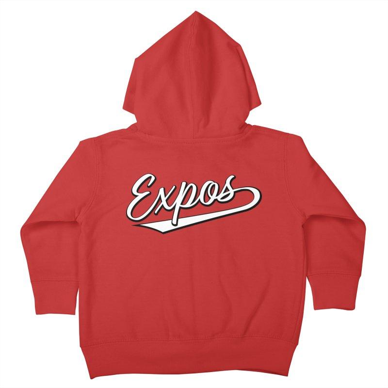 Elevation Expos Swish Logo #1 Kids Toddler Zip-Up Hoody by Hadeda Creative's Artist Shop