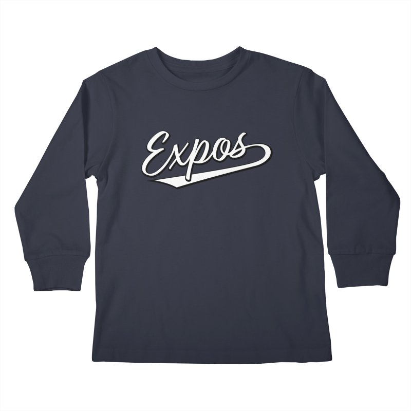 Elevation Expos Swish Logo #1 Kids Longsleeve T-Shirt by Hadeda Creative's Artist Shop