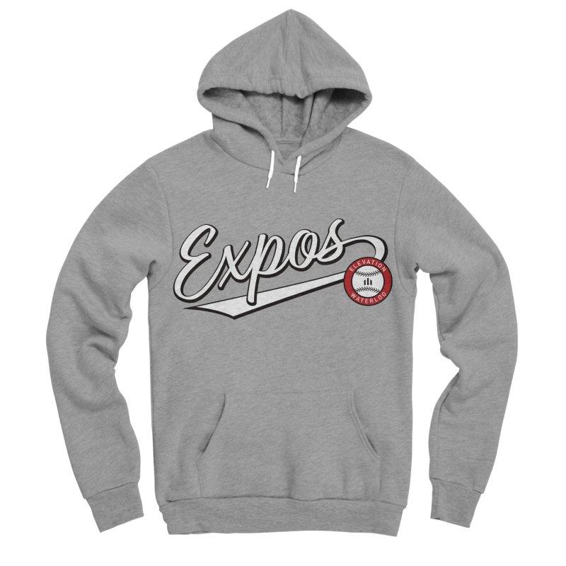 Elevation Expos Swish Logo #2 Women's Sponge Fleece Pullover Hoody by Hadeda Creative's Artist Shop