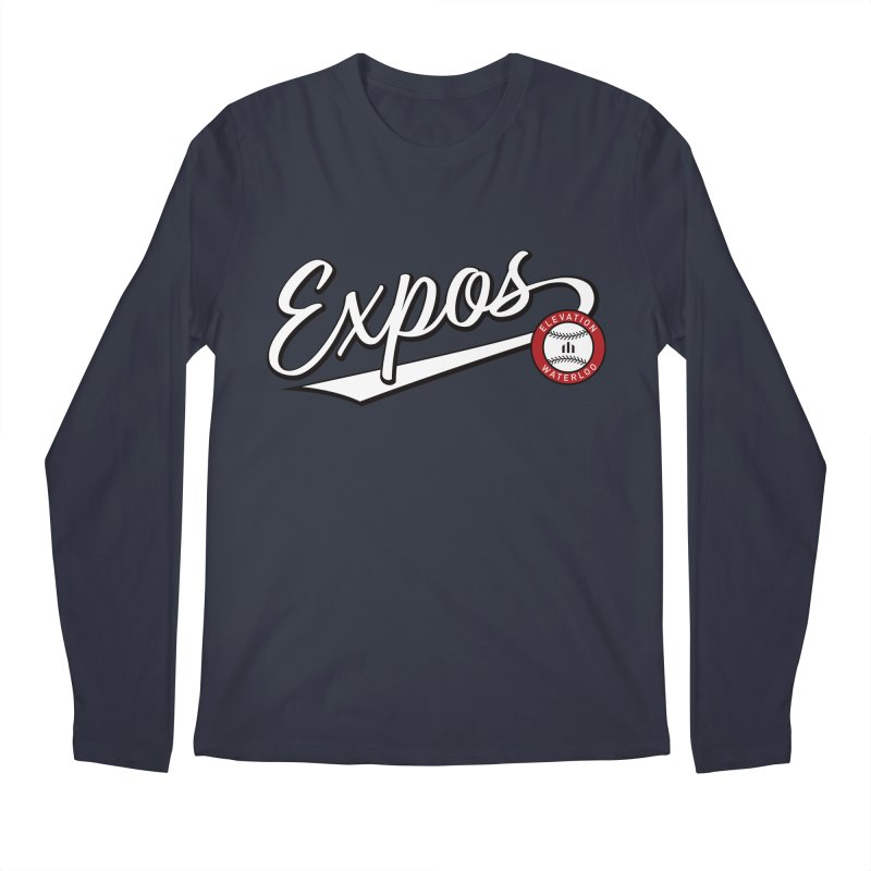 Elevation Expos Swish Logo #2 Men's Regular Longsleeve T-Shirt by Hadeda Creative's Artist Shop