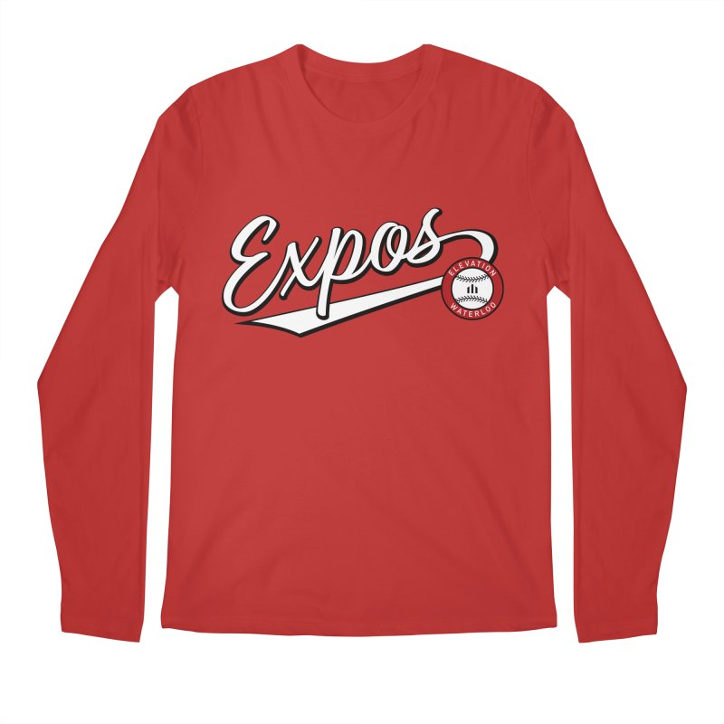 Elevation Expos Swish Logo #2 Men's Regular Longsleeve T-Shirt by Hadeda Creative's Artist Shop