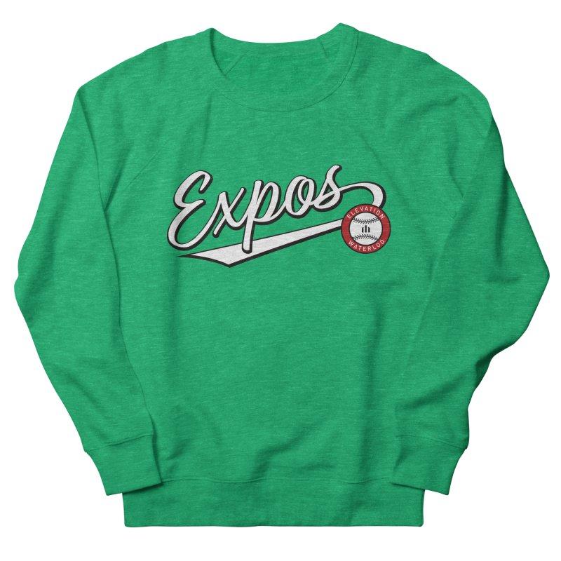 Elevation Expos Swish Logo #2 Women's French Terry Sweatshirt by Hadeda Creative's Artist Shop