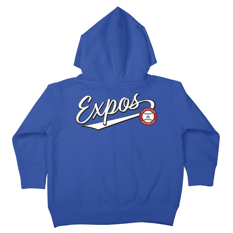 Elevation Expos Swish Logo #2 Kids Toddler Zip-Up Hoody by Hadeda Creative's Artist Shop
