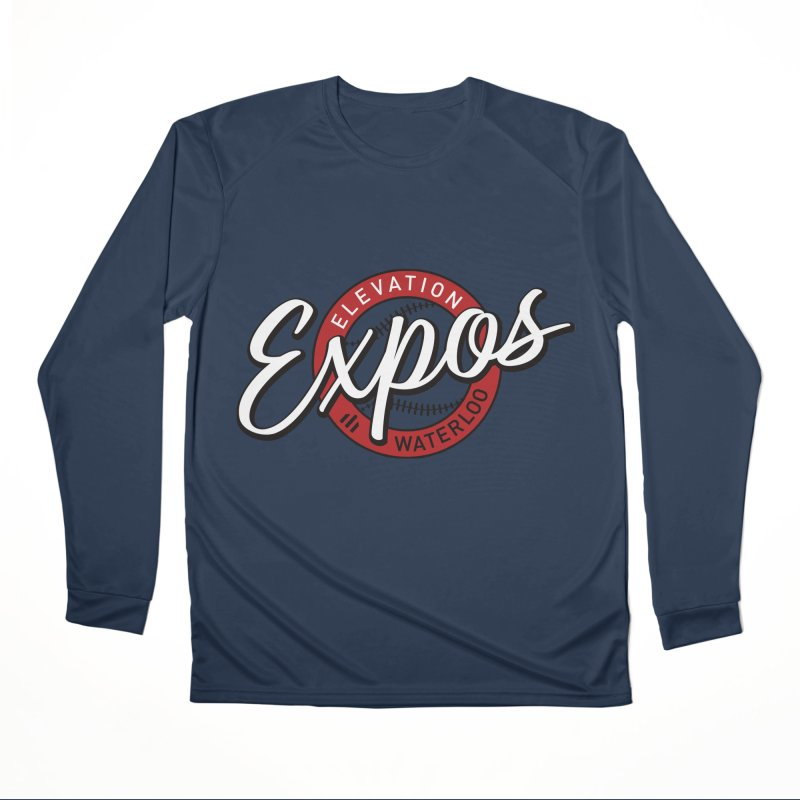 Elevation Expos Supporters Alternate Logo Men's Performance Longsleeve T-Shirt by Hadeda Creative's Artist Shop