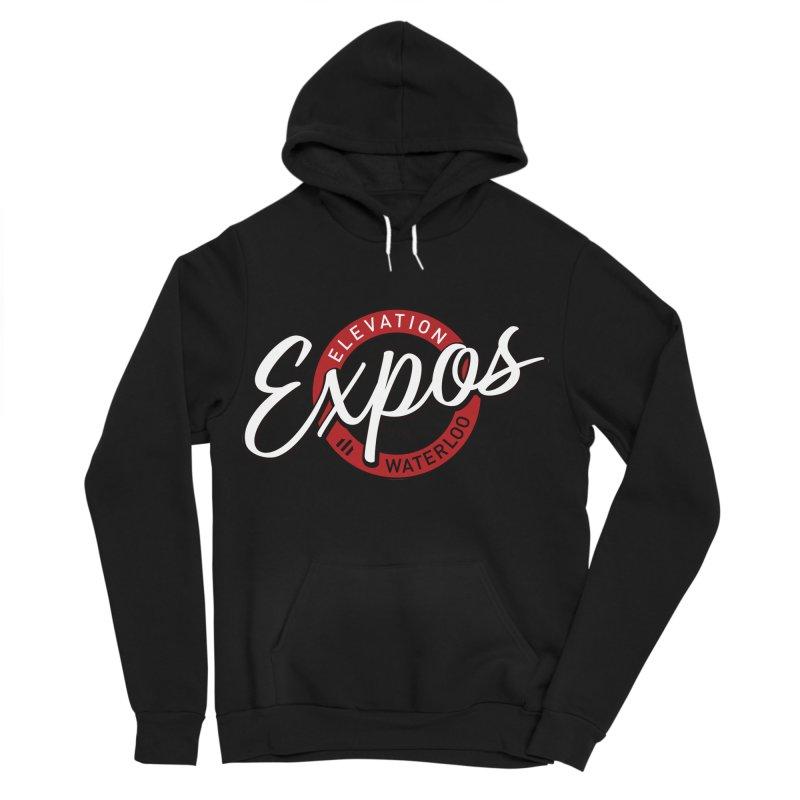 Elevation Expos Supporters Alternate Logo Women's Sponge Fleece Pullover Hoody by Hadeda Creative's Artist Shop