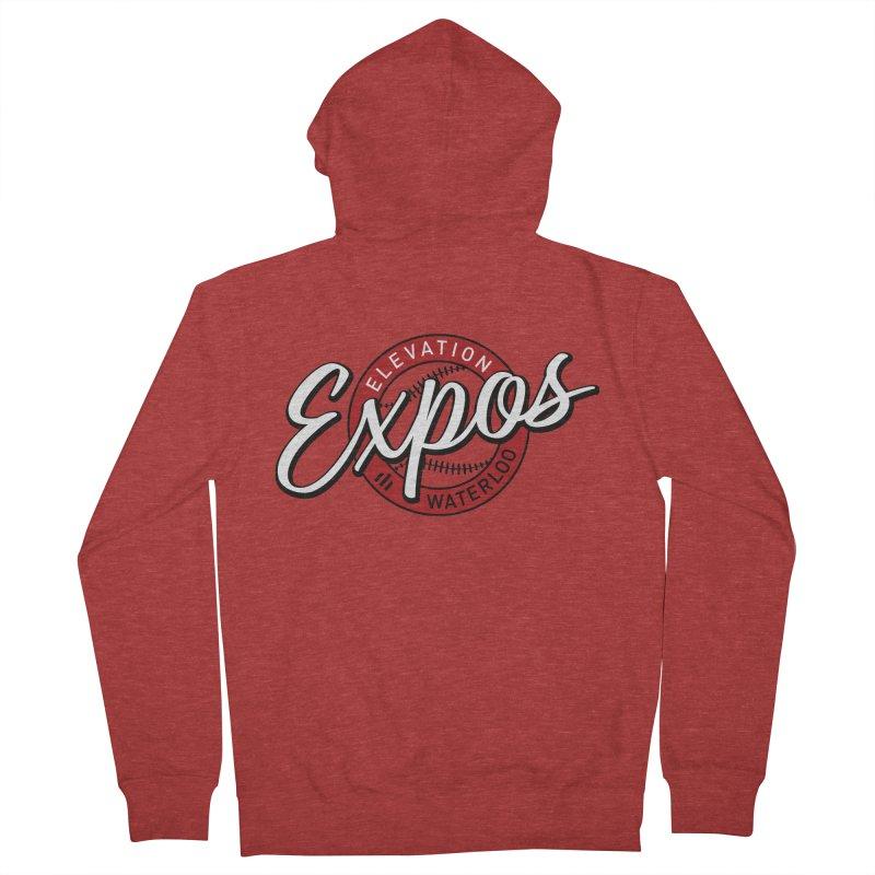 Elevation Expos Supporters Alternate Logo Men's Zip-Up Hoody by Hadeda Creative's Artist Shop
