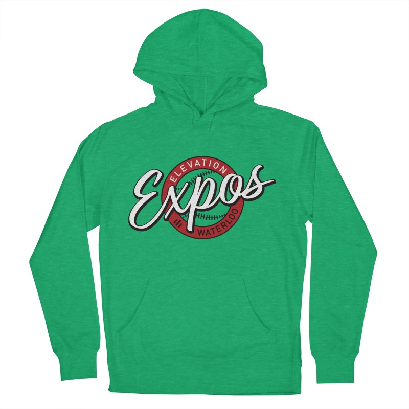 Elevation Expos Supporters Alternate Logo Men's French Terry Pullover Hoody by Hadeda Creative's Artist Shop