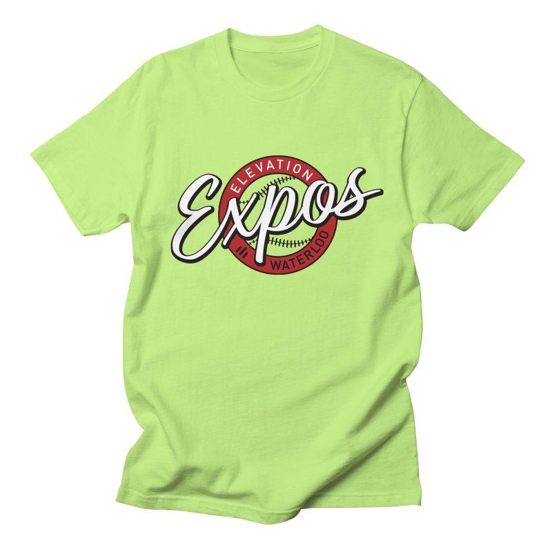 Elevation Expos Supporters Alternate Logo Men's Regular T-Shirt by Hadeda Creative's Artist Shop