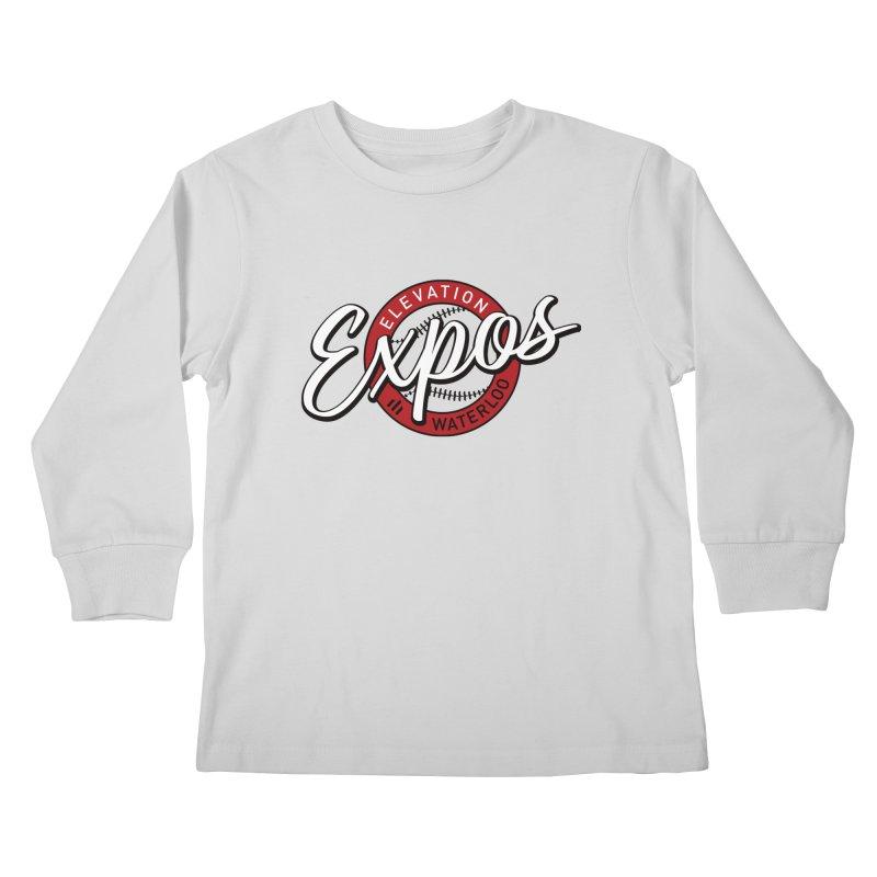 Elevation Expos Supporters Alternate Logo Kids Longsleeve T-Shirt by Hadeda Creative's Artist Shop
