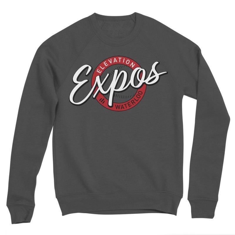 Elevation Expos Supporters Alternate Logo Men's Sponge Fleece Sweatshirt by Hadeda Creative's Artist Shop