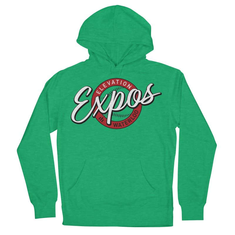 Elevation Expos Supporters Alternate Logo Women's French Terry Pullover Hoody by Hadeda Creative's Artist Shop