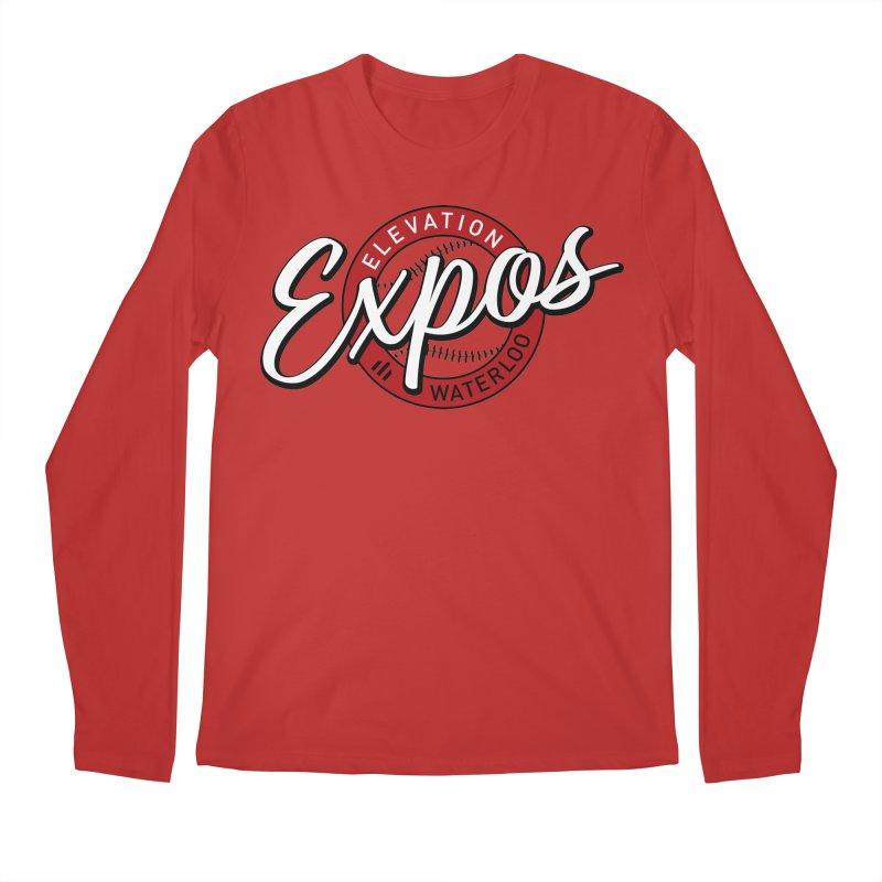 Elevation Expos Supporters Alternate Logo Men's Regular Longsleeve T-Shirt by Hadeda Creative's Artist Shop
