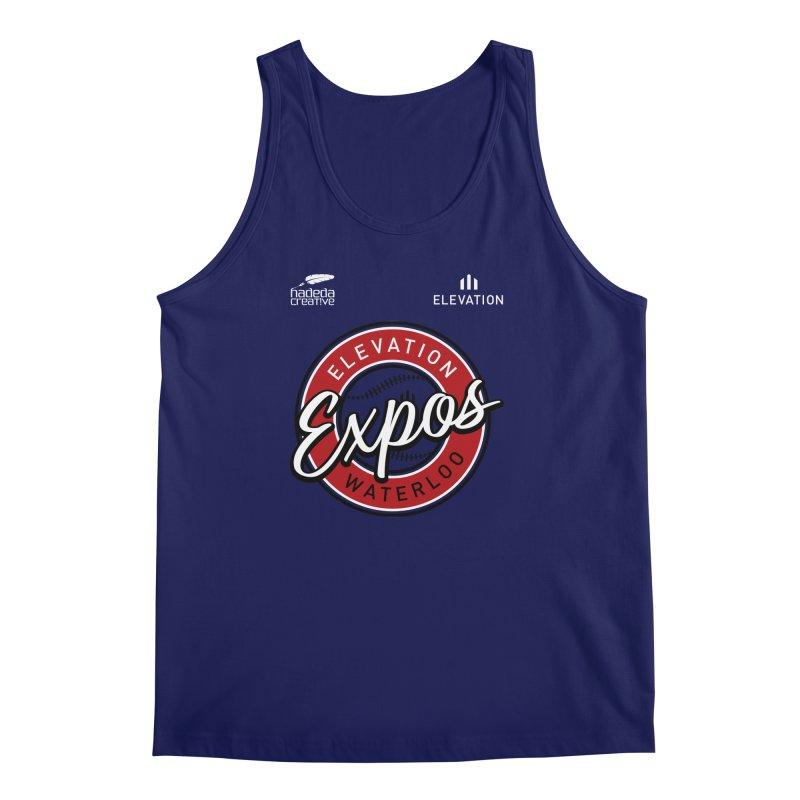 Expos Shirt with Elevation & Hadeda Creative Logos. Men's Regular Tank by Hadeda Creative's Artist Shop