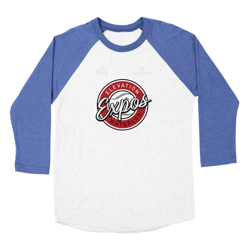 Expos Shirt with Elevation & Hadeda Creative Logos. Men's Longsleeve T-Shirt by Hadeda Creative's Artist Shop