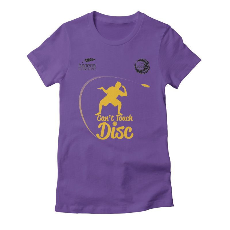 Can't Touch Disc Women's T-Shirt by Hadeda Creative's Artist Shop