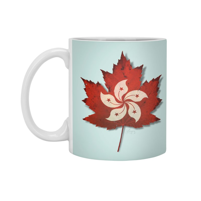 Hong Kong Maple Accessories Standard Mug by Hadeda Creative's Artist Shop