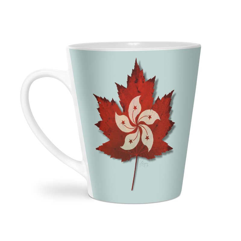 Hong Kong Maple Accessories Latte Mug by Hadeda Creative's Artist Shop