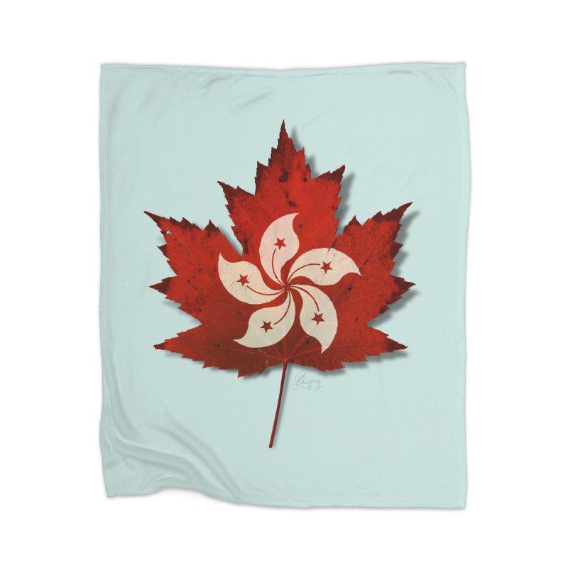 Hong Kong Maple Home Blanket by Hadeda Creative's Artist Shop