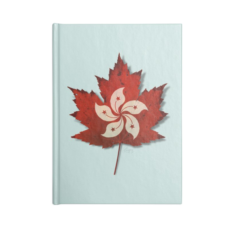 Hong Kong Maple Accessories Blank Journal Notebook by Hadeda Creative's Artist Shop